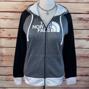 The North Face Colorblock Full Zip Hoodie